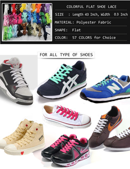 SHOE LACES / athletic shoelace / Sneaker shoelaces / shoe laces / flat shoe laces / rape lace /shoe