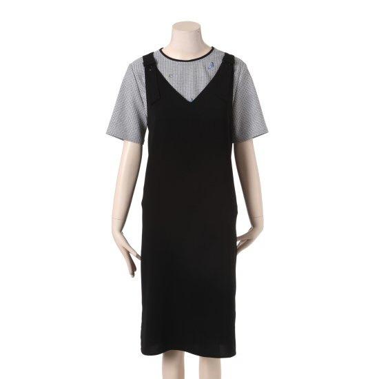 タプゴルデイリーサスペンダーTHB4OP705F 面ワンピース/ 韓国ファッション