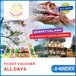 ☆Taman Legenda Keong Emas☆Taman Mini Indonesia☆Discount E-Ticket Theme Park Keong Mas☆ALL Days☆