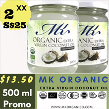 Extra Discount- Organic Extra Virgin Coconut Oil of 500 ml