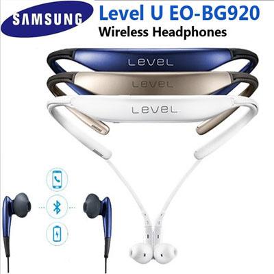 Ohmyshop Samsung Samsung New Level U Wireless Bluetooth Headphones Eo Bg920 Bluetooth Headset