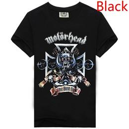 2016 New Arrivals Men s Cool 3d Motorhead Print T-shirt High Quality Short Sleeve Cotton T-shirt Fas