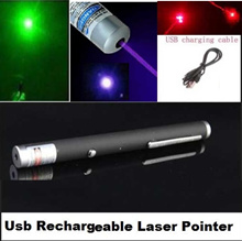 RECHARGEABLE HIGH POWER Laser Pointer Pen ideal for powerpoint