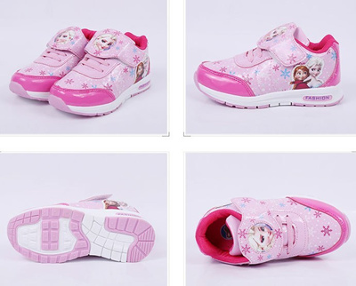 7b8bac8c7cb outlet fashion designer children shoes girl trainer breathable loafers  tenis anna elsa cotton shoe k