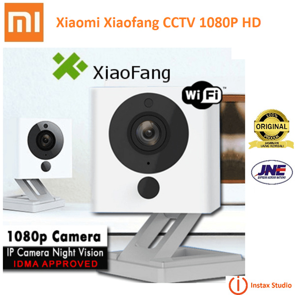 100% Original Xiaomi XiaoFang 1080P Night Vision WiFi IP Smart Camera Deals for only Rp359.000 instead of Rp359.000