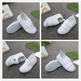 White Sneakers Canvas Shoes for Girls Boys Children School Student Casual Shoes