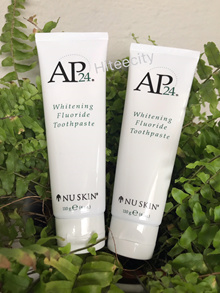 2 For S$25! Nuskin AP-24 Toothpaste (Free Atomy toothbrush) -Exp 11/2020 From Nuskin Singapore