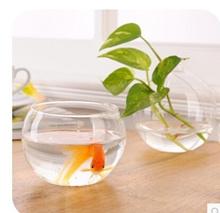 European home home creative hanging type aquarium desktop hydroponic flowers K3382 clear glass vase