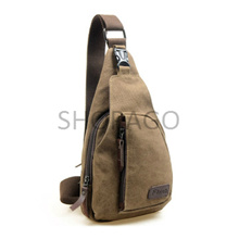 ♥ PAY LOWEST PRICE FOR GOOD QUALITY ♥ [5635] Korean Casual Mens Chest Canvas Sports Bag Multifunctional Outdoor Small Satchel Bag~~BUY 3pcs IN 1 SHIPPING FEE~~