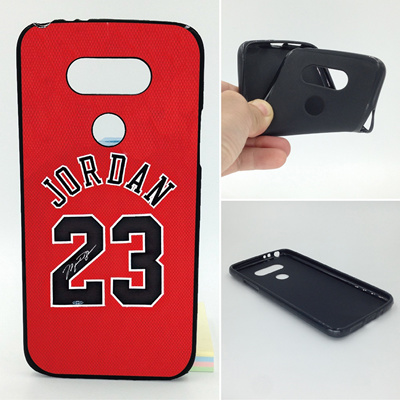 hot sales a4870 53664 Michael Jordan No 23 Phone Case Soft TPU For LG G5 G6 K7 K8 K10 Leon H340  V20 Nexus 5X X Screen Powe