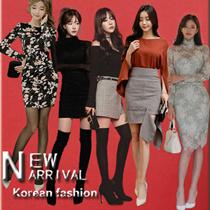 (FS-DEC01)韓国ファッションワンピース レディース レース ワンピースOL、正式な場合、礼装ドレス♥セクシーなワンピース、ハイウエスト