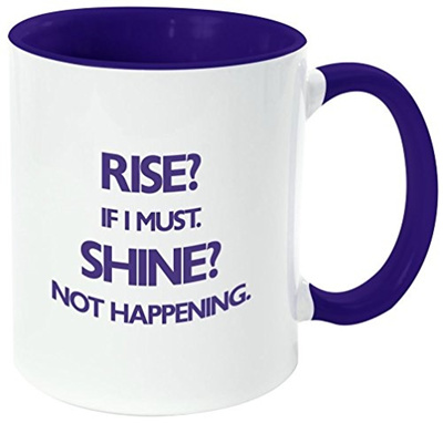 Qoo10 Rikki Knight Rise Shine Not Happening Funny Quotes Handle