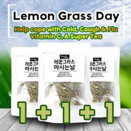 [DeoGlobal] Help cope with Cold Cough Flu / Lemongrass Tea / 10T+10T+10T