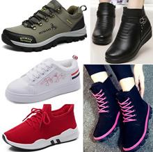 women/men Winter Shoes winter boots Leather shoe running sports Ladies Casual sneakers Waterproof