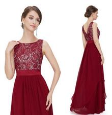 Plus Size S-XL ~ Euro Wedding/Party/Dinner Long Dress