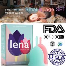 Rena Menstrual Cup Small Large Set / lena Menstrual Cup Set