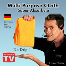 ★As seen on TV★ German best-selling absorbent cloth shamwow absorbent cloth water towel cleaning