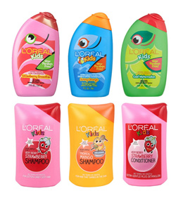 [4 BOTTLES] LOREAL KIDS SHAMPOO AND CONDITIONER - BEAUTY LANGUAGE