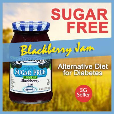 Sugar Free Jam Preserves for Diabetes SMUCKERS Blackberry Jam Favour