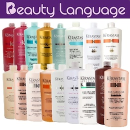 ♫ KERASTASE  ♫ SHAMPOO ♫ 1000ML ♫ DAMAGED ♫ DULL ♫ SPLIT END ♫ FRIZZ FREE ♫ COLOR ♫ OILY ♫ DRY HAIR