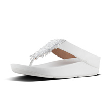 FITFLOP RUMBA TOE THONG URBAN WHITE ★100% Authentic★