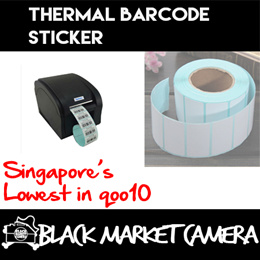 [BMC][Computer] Thermal Barcode Sticker 40mm | Print Label | Retail / Industry / Stores / Quality Ad