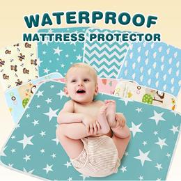 Baby Waterproof Mat/ Diaper Changing Mat/ Stroller mat/ waterproof Baby cot bedsheet protector