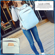 [JS KOREA]◇Sale Event◇Authentic◇Handmade Leather Laptop Backpack for Unisex