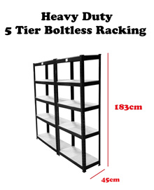 D.I.Y Heavy Duty Boltless Shelves Rack ★Storage rack/Storage Box/★ Home/office racking200KG each