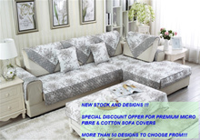 [JTKIDDO]*New Designs Launch*.Micro Fiber/Cotton Sofa cover. Sofa protector. Seat cover. Cushion.