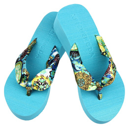 84a89b5c1 Girls Wedge Platform Thong Flip Flops Sandals Shoes Beach Casual Slippers  Shoes Woman Summer 2018 za