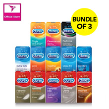 Durex Condoms 12s - Bundle of 3 Deal!