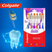 Colagate Toothbrush Zig-Zag pack fo 6