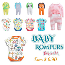 CupKidsLove❤ 6 Apr New ❤ Babies Rompers / Sets / PJ / Jumpsuits ❤ 2017 New Arrival ❤