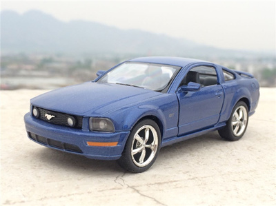 sale New 1:38 2006 Ford Mustang GT Diecast Metal Alloy Car Model Toy With  Pull Back Car As Gift For