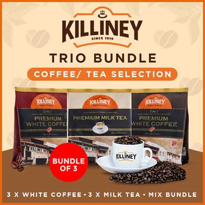 [Bundle of 3] Coffee / Tea Selection (UP$29.40)