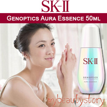NEW AURA ESSENCE!!GLOW FROM WITHIN!! SK-II Genoptics Aura Essence 50ml