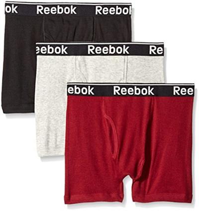 f2bc351913d37 (Reebok) Reebok Men s 3 Pack Cotton Boxer Brief-RE7335Y