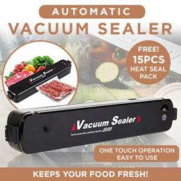 ★SG LOCAL★SAFETY MARK Adaptor★Food Vacuum Sealer and Packer★Keep Food Fresh/Vacuuming/Free 15 Packs