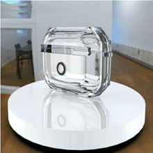 Clear Transparent Earphone Case AirPods Pro 3 Protective Cover Earbuds Cover Case
