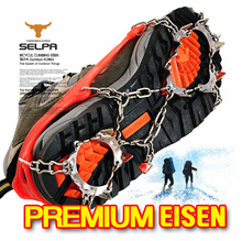 ★Crampon★Winter Easy Non-slip Crampons Ice Snow boots / climbing irons / ICE Snow Crampons / Cleats Shoes Grip Eisen / Footwear Non-Slip Crampons / Gaiter Gaiters