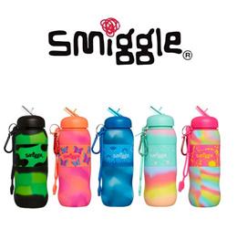 호주 스미글 실리콘 워터보틀/ 컬러풀 부드러운 실리콘으로 만들어진 초등학생용 물병/ 환경호르몬(BPA) FREE/ 600ml
