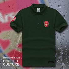 Men s sport collar Polo Shirt summer Arsenal arsenal arsenal jerseys short sleeve t shirt soccer POL