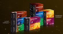 DELIPRESSO COFFEE CAPSULE (NESPRESSO COMPATIBLE) AND KCUP CAPSULES!