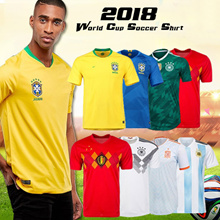 Jersey 2018 World Cup Soccer Shirt Japan Portugal Argentina Germany Italy France Belgium home away