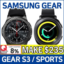SAMSUNG Gear Sport / Gear S3 Frontier / Classic ★ Smart Watch / GPS Sports Band