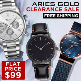 ARIES GOLD CLEARANCE SALE FLAT $99 | FREE SHIPPING WITH INTERNATIONAL WARRANTY