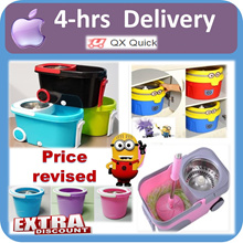 🇸🇬[4-hrs Delivery option]🇸🇬 Spin Dry Mop Set/ Mop Accessories/ Spray-Mop/ Lazy-mop