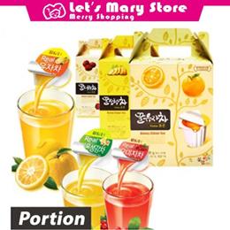 ◆ Korea Portion Tea ◆ Lemon jujube Tea  / Korea Tea Bottle Capsule portion [SG Local Delivery