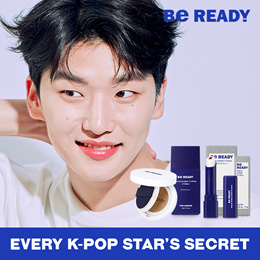 (Local Delivery)Be Ready / Korea No.1  Cushion for Men / Every K-Pop Stars Secret
